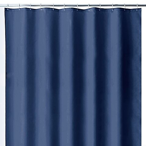 Wamsutta 144 Inch X 72 Inch Extra Wide Fabric Shower Curtain Liner With Suction Cups In White Fabric Shower Curtains Wamsutta Shower Curtain