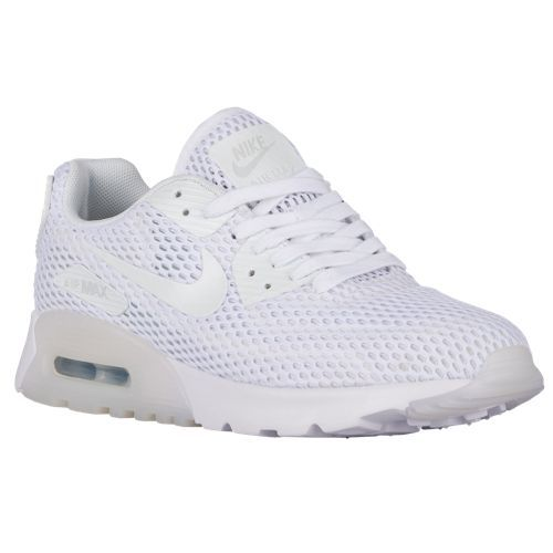 Nike Air Max 90 Ultra - Women's - White / Grey | Nike air ...