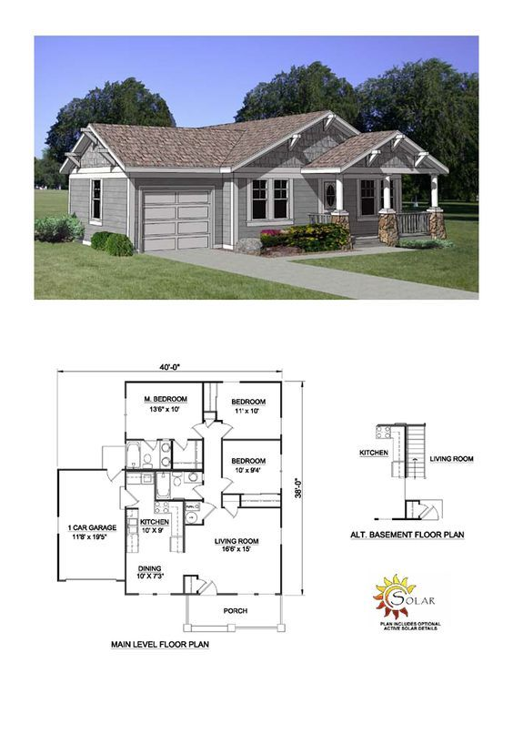 Country Style House Plan 94374 With 3 Bed 2 Bath 2 Car Garage Country Style House Plans Dream House Plans New House Plans