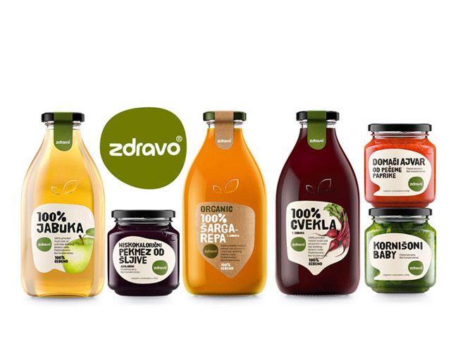 Naturall Zdravo Organic Food Packaging Organic Recipes