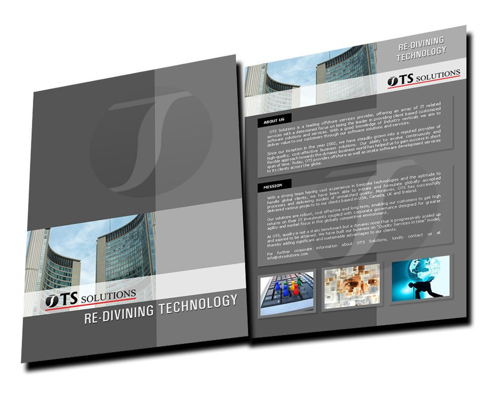 Brochure Design Services Bangalore – Vistas Brochure Design team ...