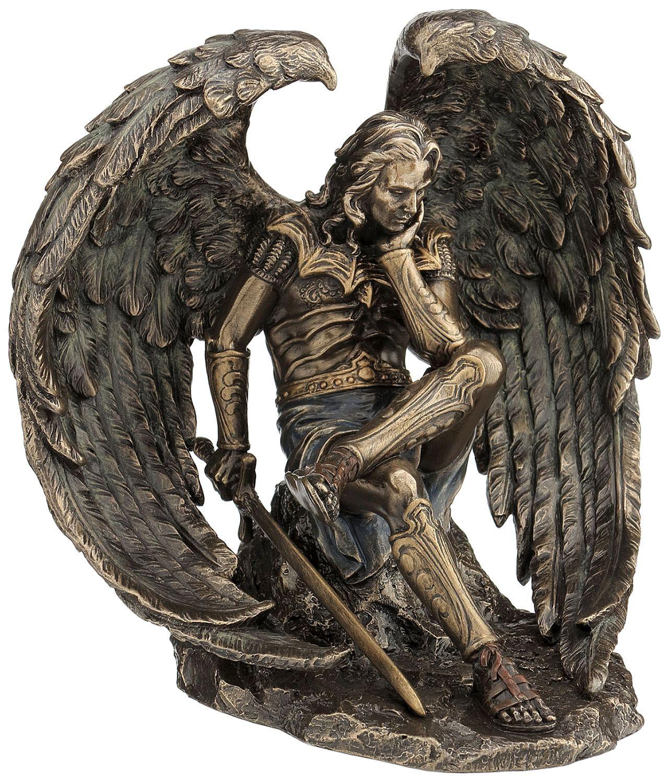 The Light Bearer Lucifer: Lucifer Cold Cast Bronze Statue