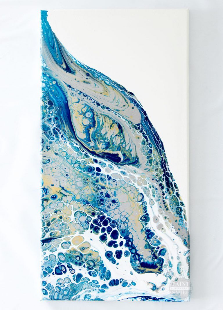 Photo of Acrylic Pouring Art – How to make artwork using acrylic pouring technique
