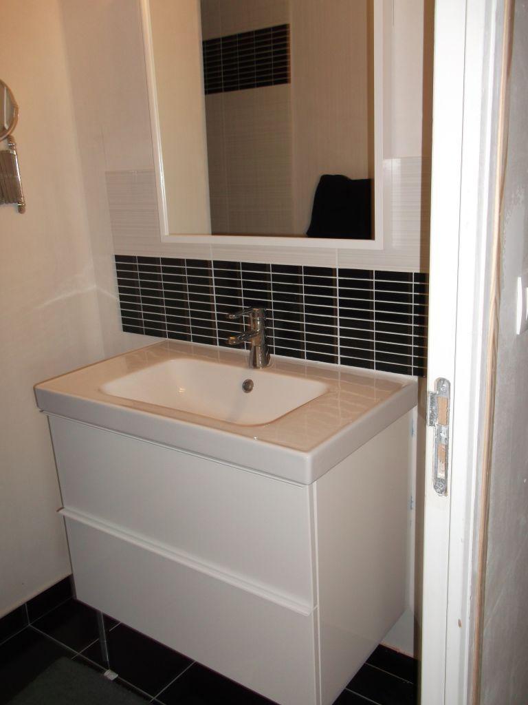Salle de bain - salle d\'eau 3m2 ikea - Erquy (Cotes D\'armor - 22 ...