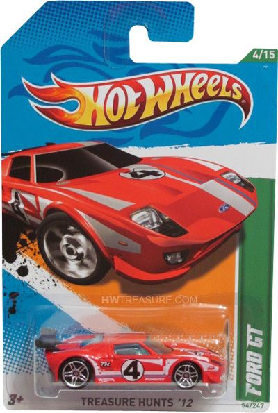 Ford Gt Hot Wheels 2012 Treasure Hunt Hwtreasure Com Ford Gt