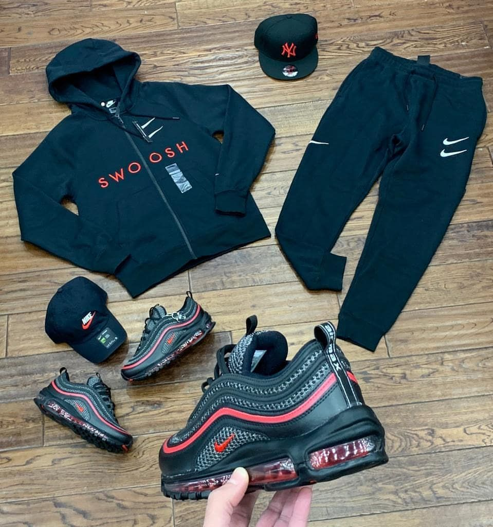 Civilized Nation Inc On Instagram Saturday S Drip New Nike Am97 Valentinesday Editio In 2020 Mens Fashion Summer Outfits Swag Outfits Men Mens Fashion Rugged