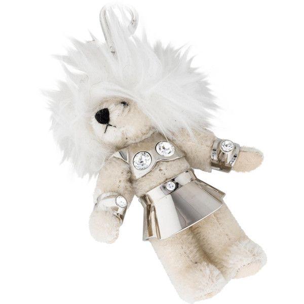 Pre-owned Prada Teddy Bear Keychain ( 125) ❤ liked on Polyvore ... b1c06b59f0f