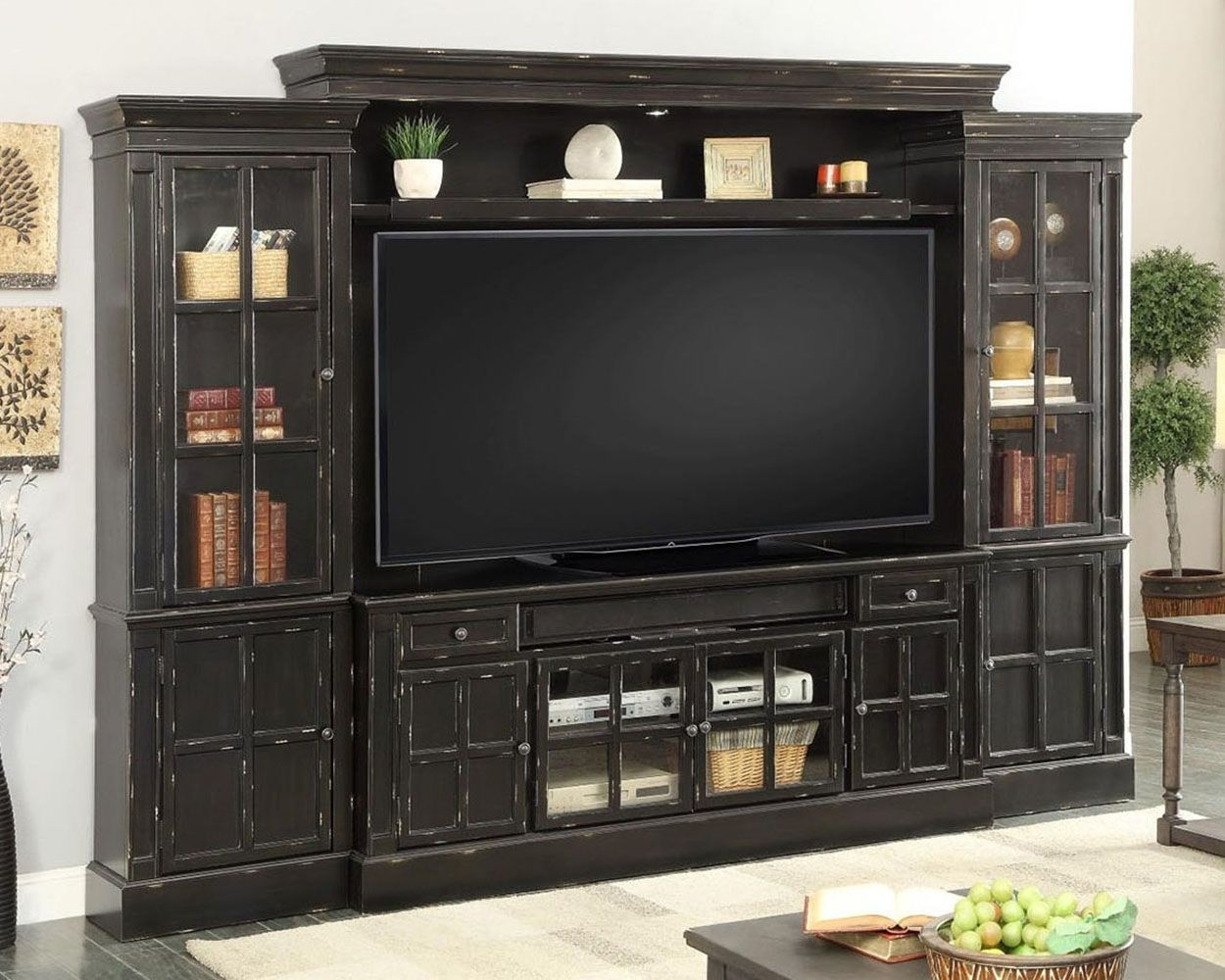 Small Entertainment Cabinet With Doors