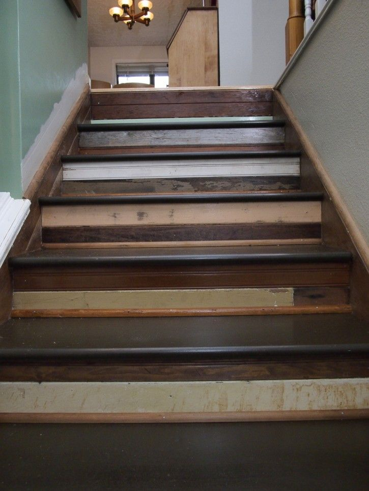 Best Reclaimed Wood Stairs For The Entry Wood Railings For 640 x 480