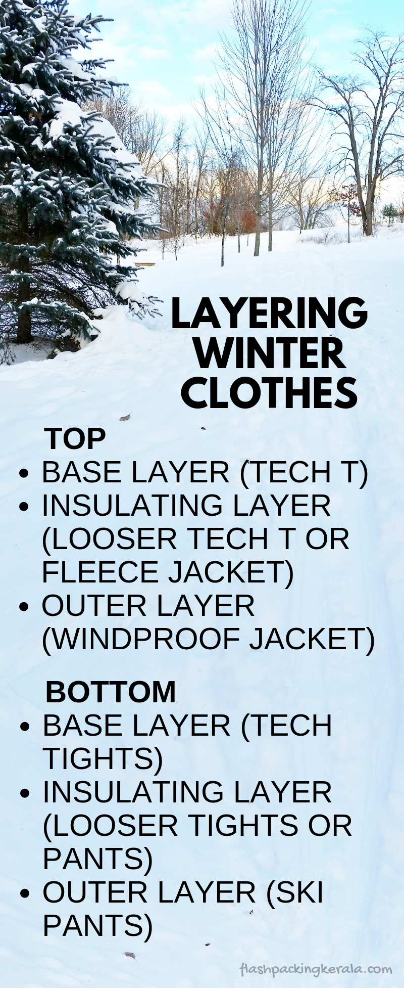 How to layer clothes for cold weather :: Winter vacation ...