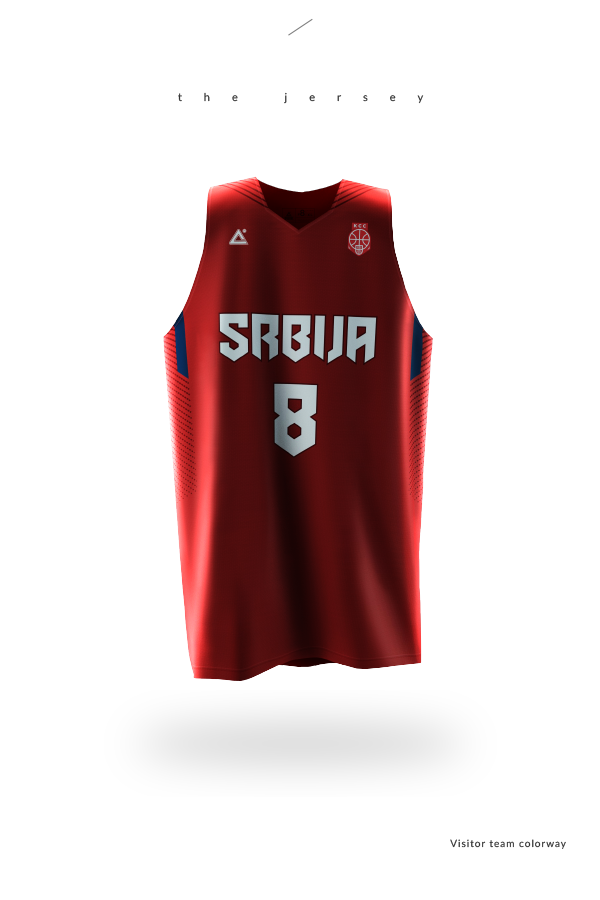 bdcd447d64b 2015 Serbia basketball uniforms on Behance