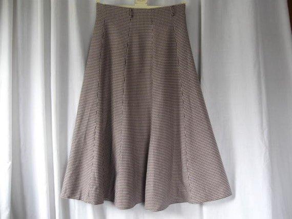 Vintage Austin Reed Wool Herringbone Skirt 31 Waist Long Etsy Long Full Skirt Vintage Austin Vintage Skirt