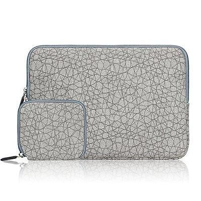 Arvok Canvas Fabric Laptop Sleeve With Extra Bag/Notebook Computer Case/Ultrabo