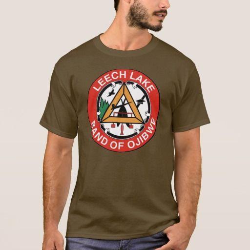 Leech Lake Band Of Ojibwe T Shirt Zazzle Com