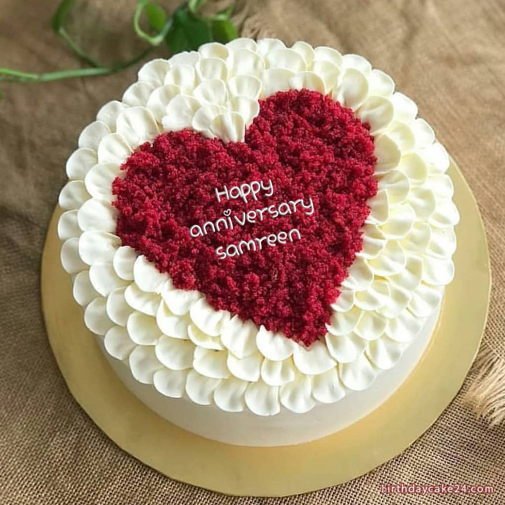 Happy Birthday Cake For Lover With Name Best Birthday Cake Images Cake For Boyfriend Happy Anniversary Cakes