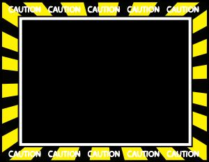 Caution Tape Border Caution Tape Border Caution