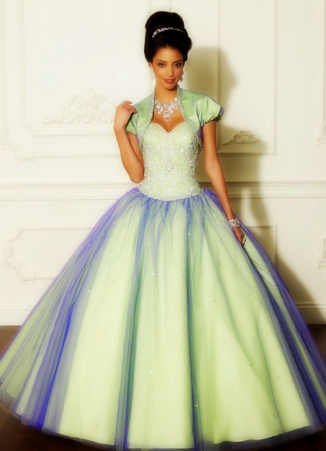 vestidos de quince estilo princesa | elegante ballkleider