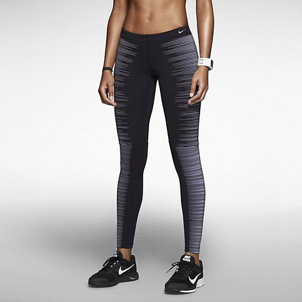 Nike Pro Warm Collant Bordeaux