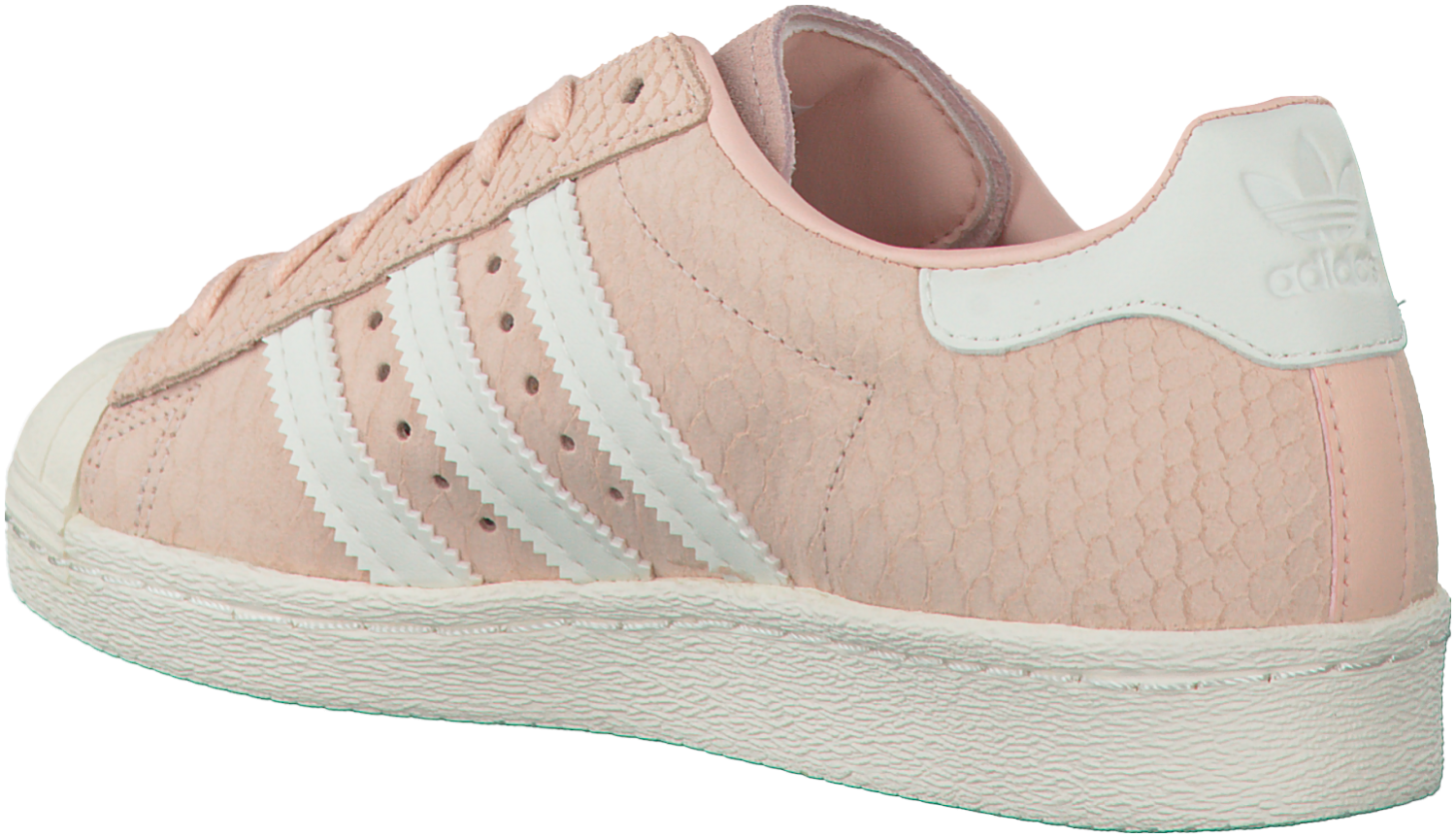 roze adidas sneakers superstar 80s dames - Omoda | Adidas ...