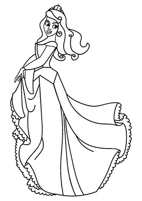Ausmalbild Prinzessin Cinderella Ausmalbilder Prinzessin Malvorlage Prinzessin Ausmalen