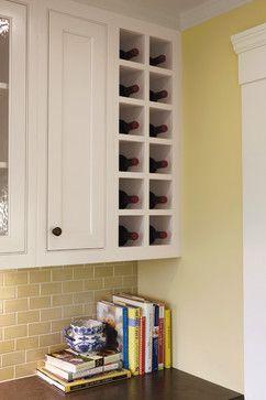 Upper Kitchen Cabinet Wine Rack Iwn Kitchen
