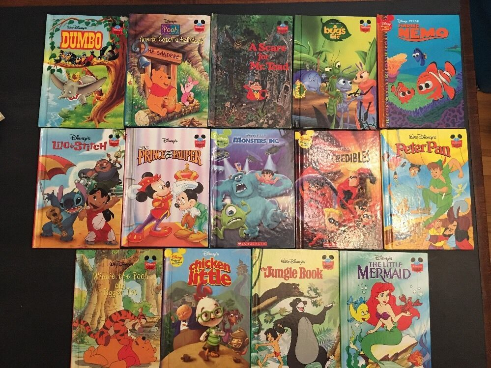 Walt Disneyu0027s Wonderful World of Reading Lot Of 14 Hardcover Picture - copy coloring pages of pluto the dog