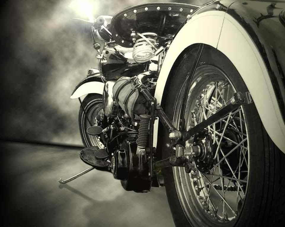 Harley-Davidson en blanco y negro   Motos   Pinterest