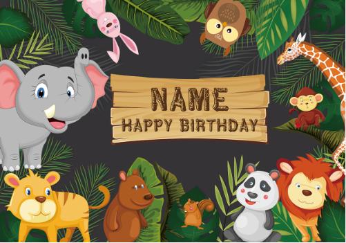 Animal Theme Birthday Party Animal Theme Birthday Party