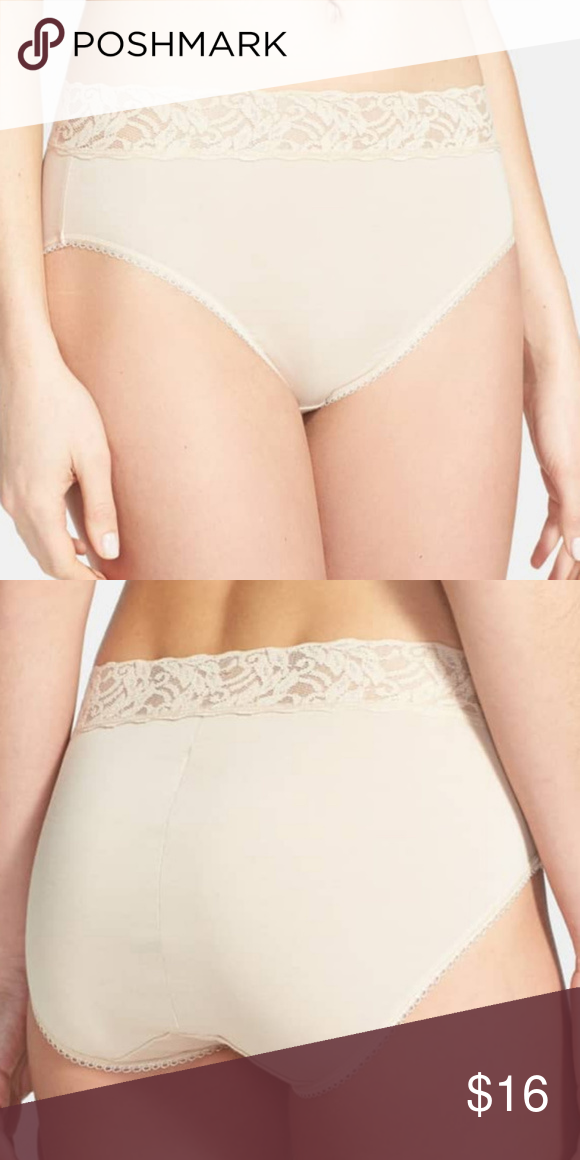 f5d558f005af WACOAL BODY SUEDE COTTON BRIEF PANTY NUDE XXL-9 WACOAL 875235 COTTON BODY  SUEDE LACE