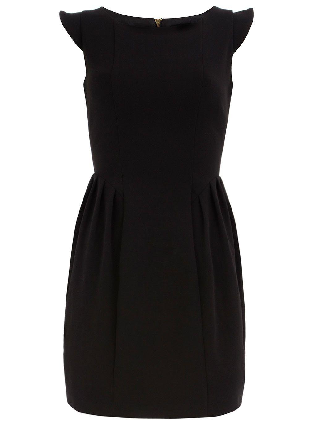 5ce43573031 little black dress for the office Black Tulips