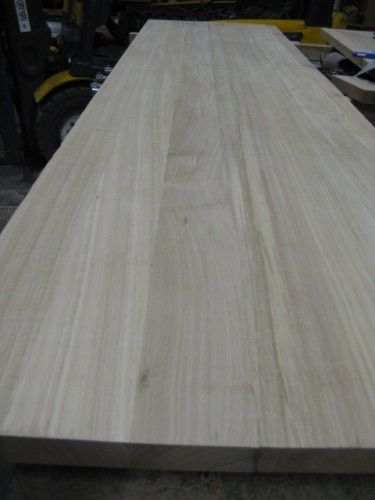 Kitchen Benchtop Bench Solid Timber Vic Ash Bathroom