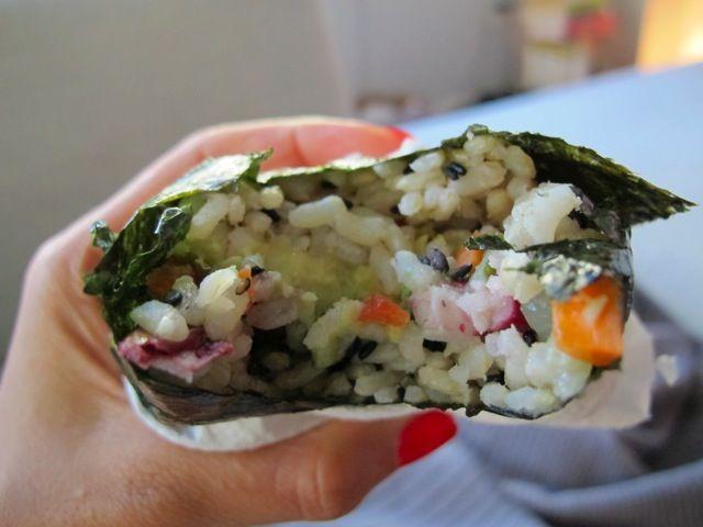 My Favorite Sandwich – Onigiri on http://foodbabe.com