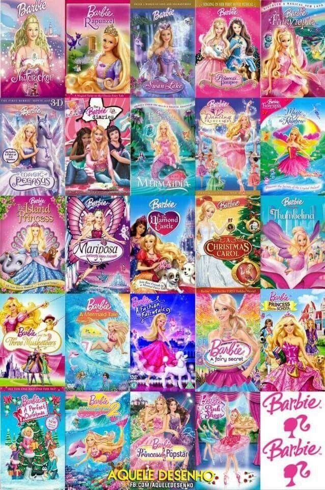 Pin Em Barbie Filmes