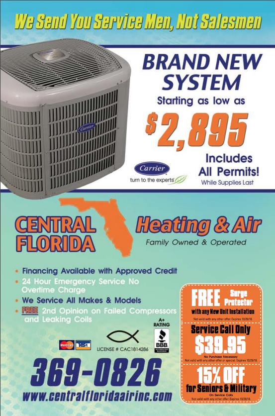 Central Florida Heating and Air Air heating, Florida