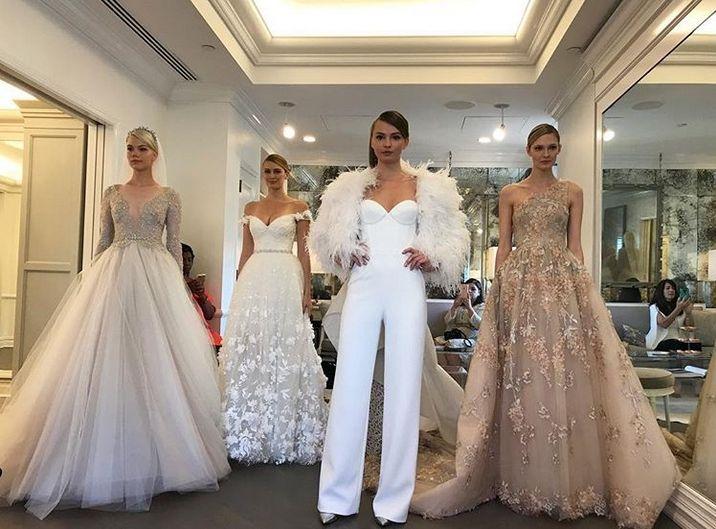 Braut kollektion Romona Keveza Herbst 2018