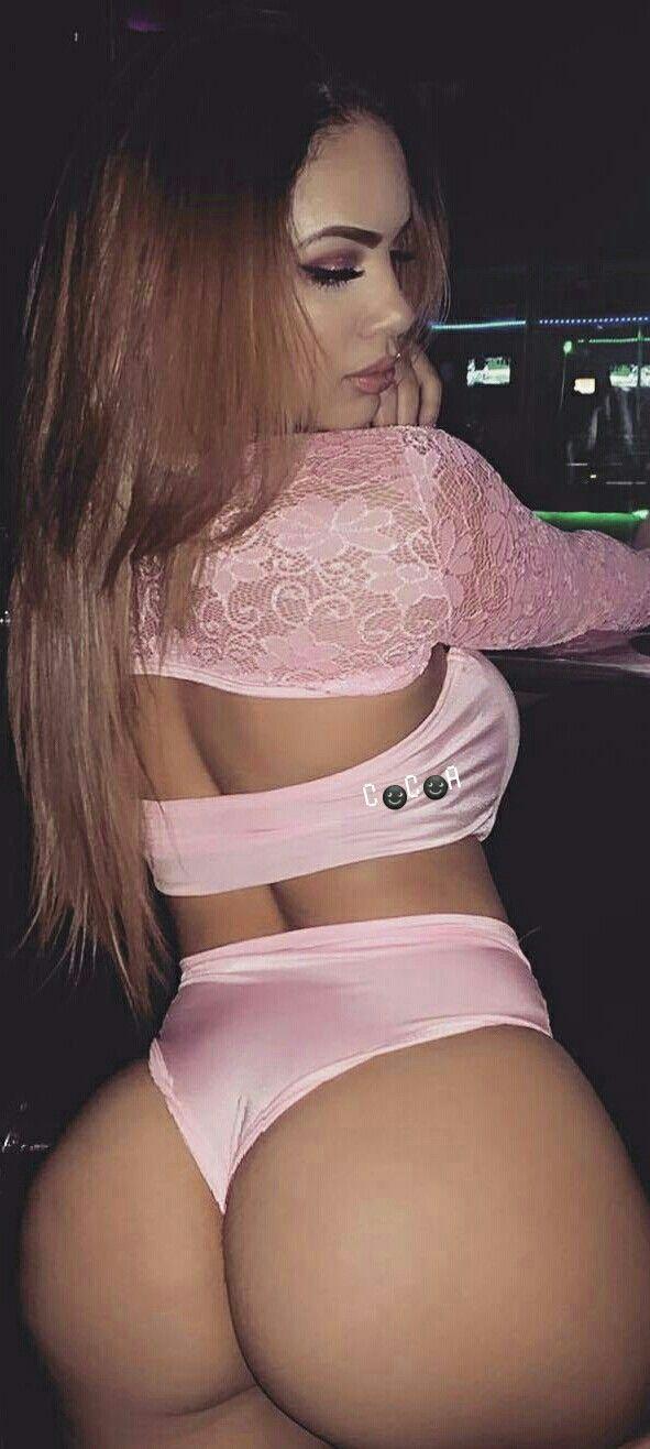 Sexy bubble butt latina