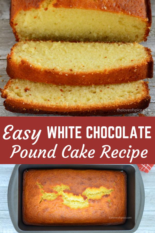 In 6 Easy Steps Recipe Easy Pound Cake Recipes Pound Cake