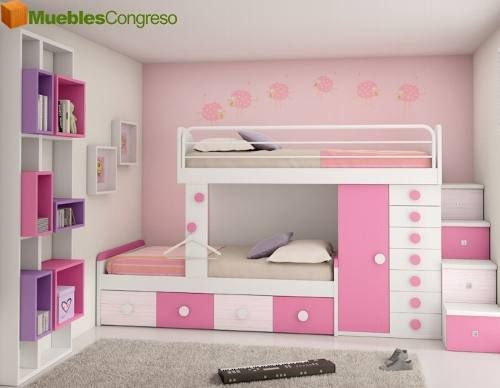 Pin de smy rq en habitacion de ni as pinterest camas - Ver camas para ninos ...