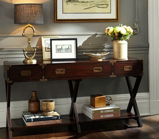 Pottery Barn S Devon Console Table Is Reminiscent Of
