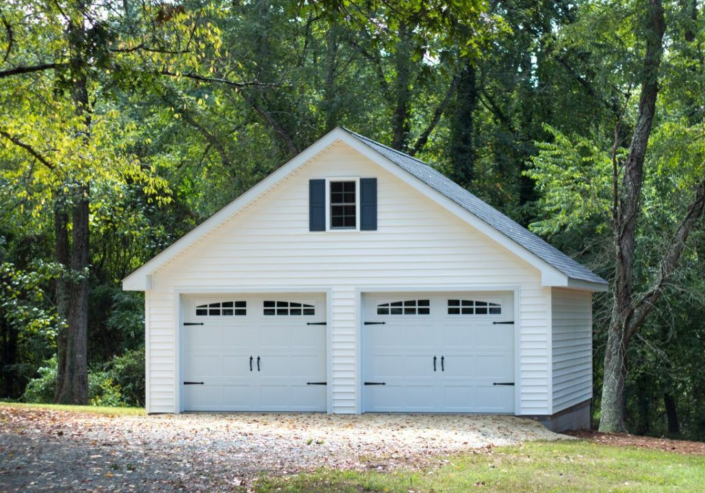 Image result for pictures of two car garages (With images