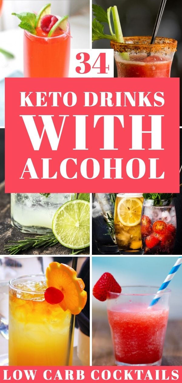 Alcohol on Keto Diet: Best & Worst Low Carb Alcoholic Drinks