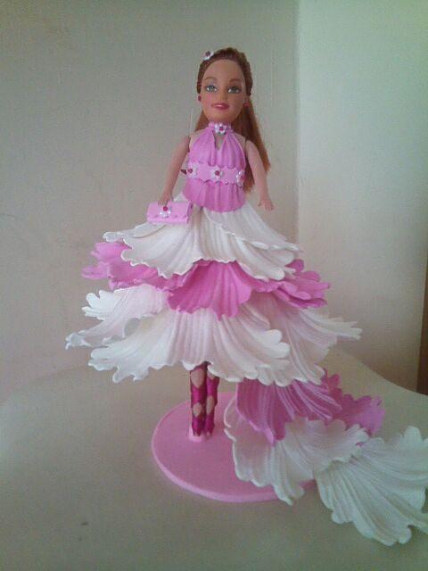 boneca bailarina de eva