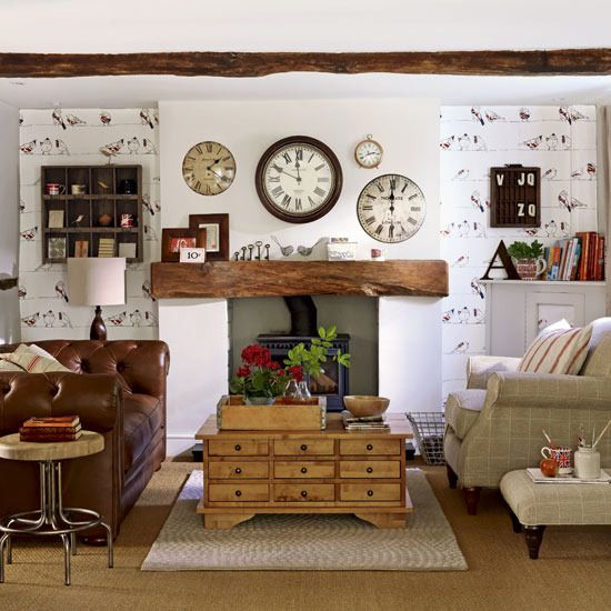 Beautiful Country Living Living Room Ideas Model