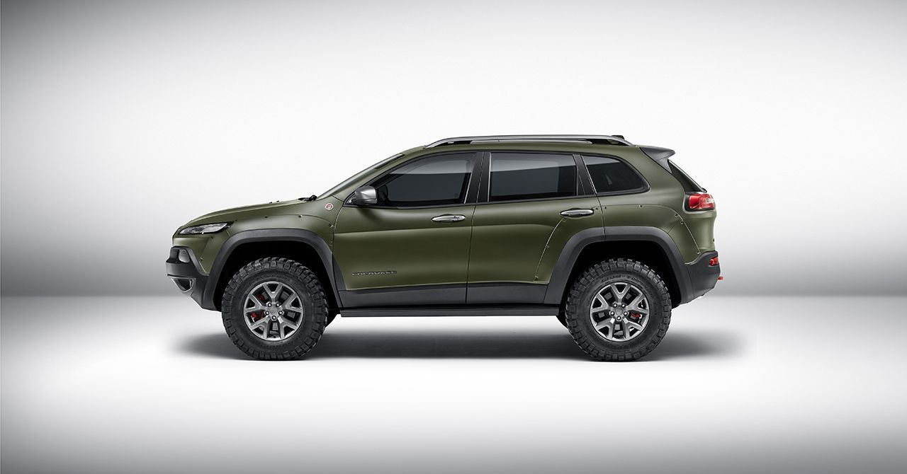 Jeep Showt Op Iaa Night Eagle Special Editions Van Renegade En