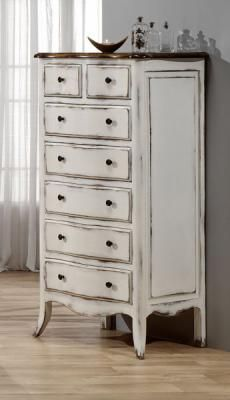 Pin de carla pannelli en para mariela muebles muebles blancos y muebles blancos envejecidos - Muebles blanco envejecido ...