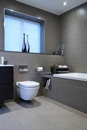 ▷ Graue Fliesen fürs Badezimmer - 61 Bilder, die Sie beeindrucken ...