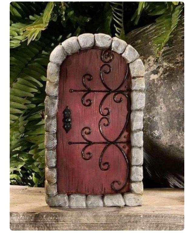 Castle Fairy Door, Cute DIY