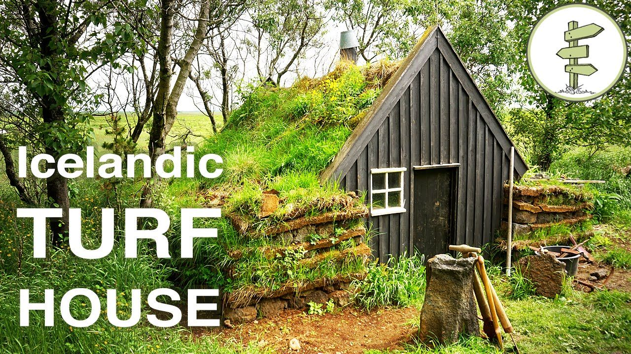 In this video we tour a traditional Icelandic turf house at the Islenski Baerinn Turf House museum (http://islenskibaerinn.is/english/). Turf houses are the ...