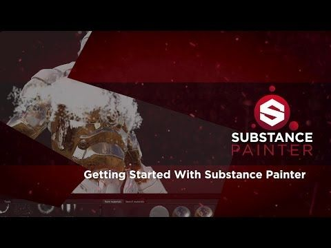 Substance Painter Getting Started 02 - Brushes, Tools and Materials - YouTube