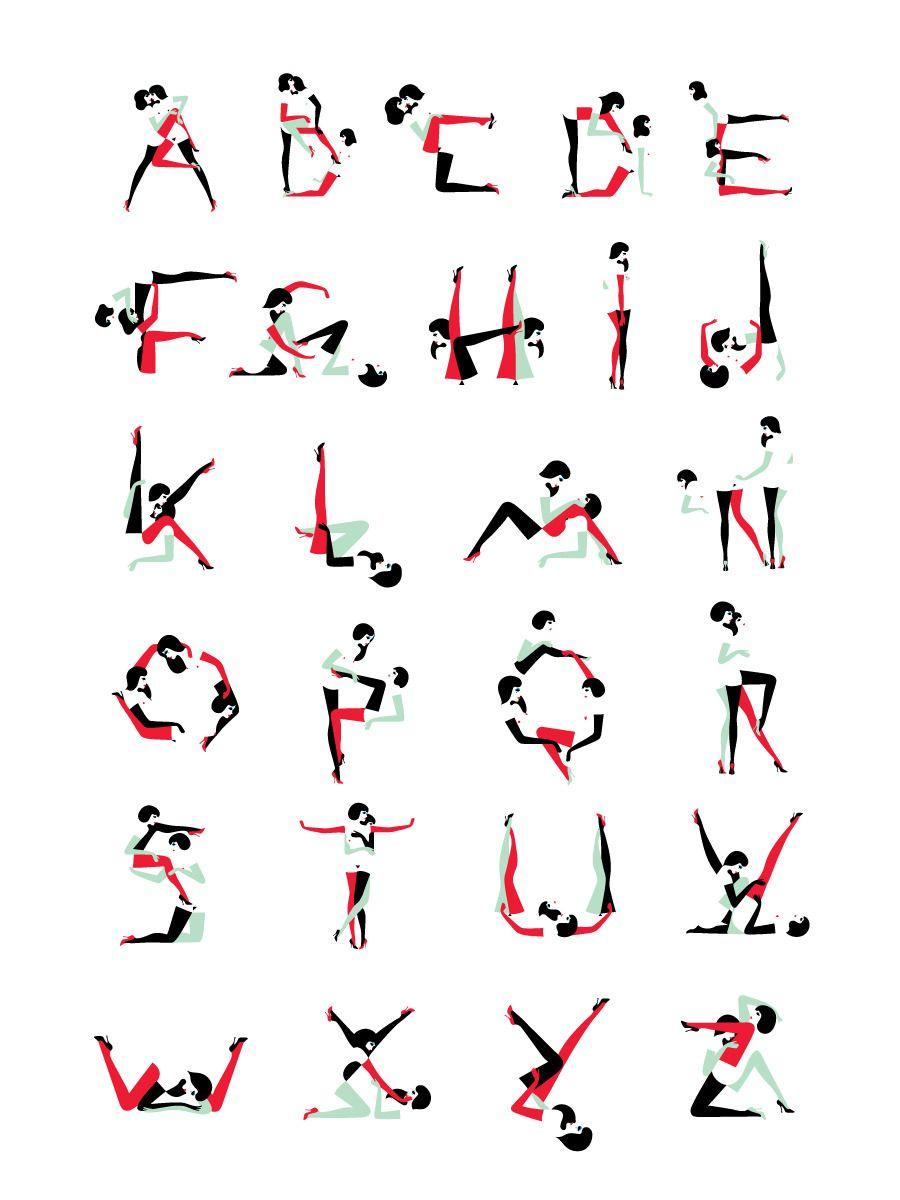 Illustrated alphabet sex stories